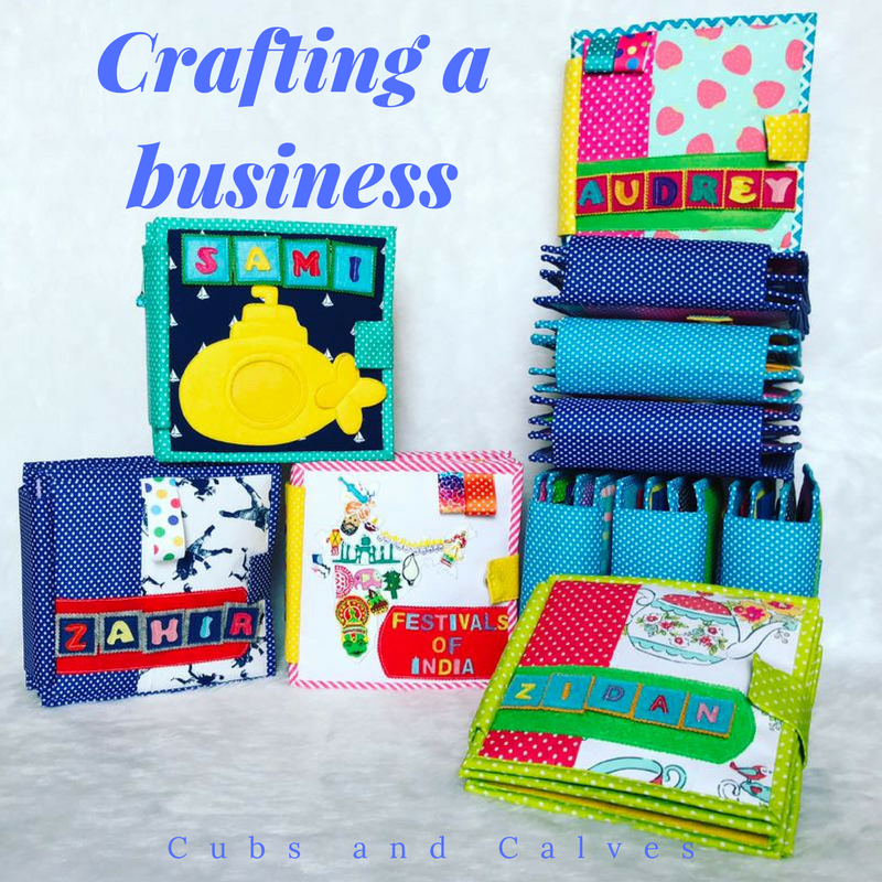 Crafting a business: Quiet Books: #AtoZChallenge